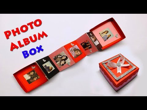 DIY Photo Album Box | Magic Gift Box Idea | Paper Craft Ideas