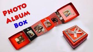 DIY Photo Album Box | Magic Gift Box Idea | Paper Craft Ideas