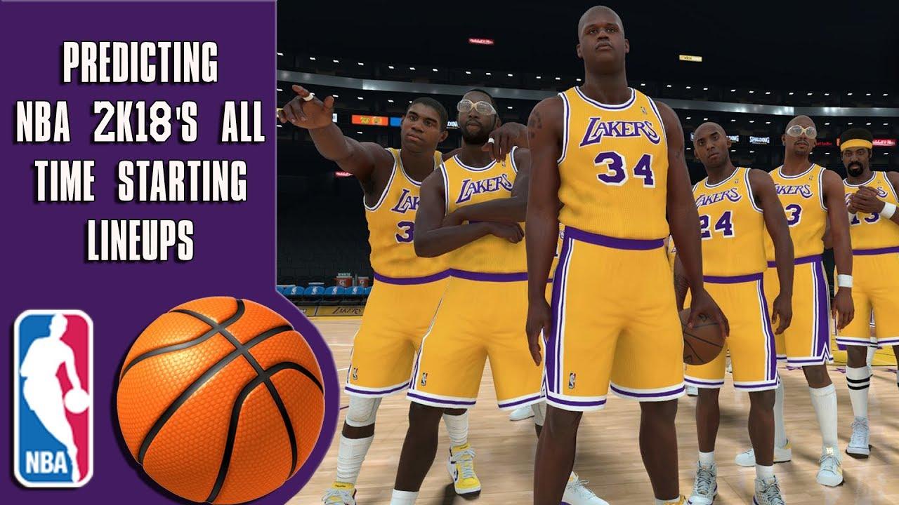 Predicting NBA 2K18 s all time team starting lineups - YouTube 65e7a782a
