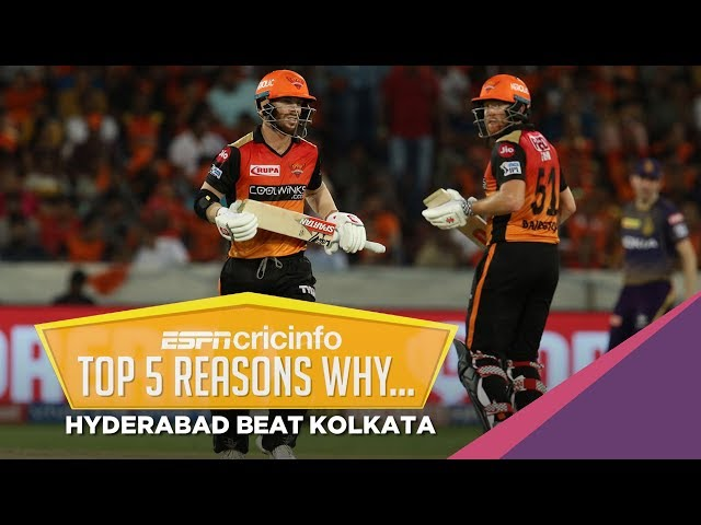 Five reasons why Sunrisers thumped Knight Riders