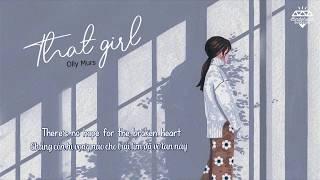 [Vietsub + Lyrics] That Girl - Olly Murs