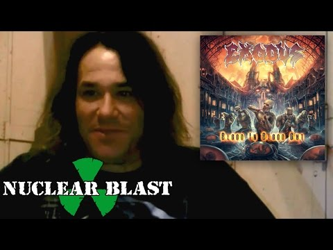 EXODUS - BLOOD IN, BLOOD OUT - AVAILABLE AT NUCLEAR BLAST