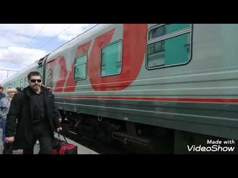 В Крым на поезде 129 Красноярск - Анапа