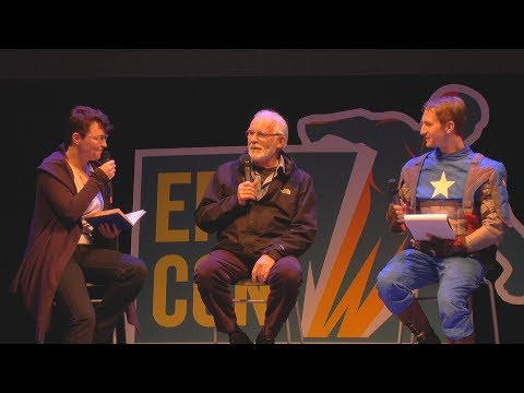 Ian McElhinney (actor in Game Of T.) - Interview (EN+RU) /Epic Con 2019/