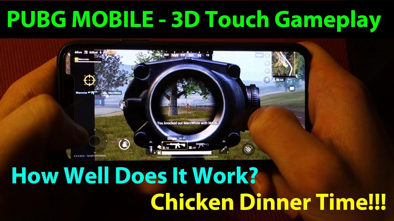 Pubg Mobile 3d Touch Gameplay On Iphone X Worth The Hype Youtube