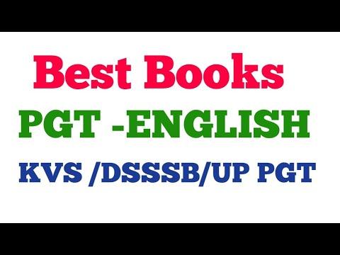 Dsssb pgt tgt; Best Books for English | DSSSB pgt English literature| KVS PGT |pgt tgt english