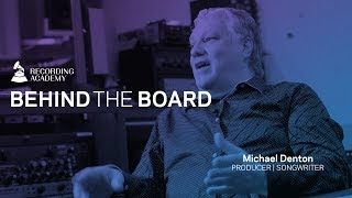 Michael Denton On Working With Bay Area Hero Hip-Hop E-40 & More | Behind The Board