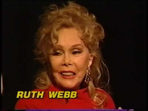 Ruth Webb, Mark Harris--Rare TV Interview, Martha Raye