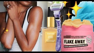 Get the SUMMER GLOW! Body Routine for Glowing Skin ▸ VICKYLOGAN