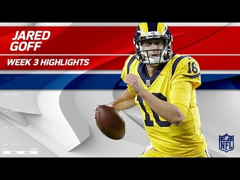 Jared Goff's Breakout Game vs. San Francisco | Rams vs. 49ers | Wk 3 Player Highlights