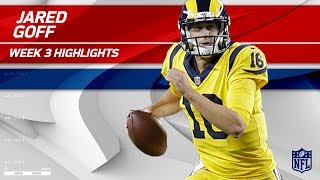 Jared Goff Displays Pinpoint Accuracy with 3 TDs! 🎯 | Rams vs. 49ers | Wk 3 Player Highlights