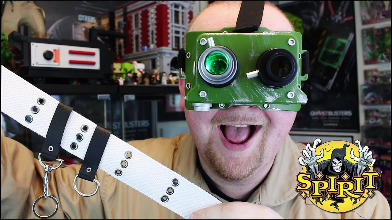 exclusive review: spirit halloween's ghostbusters ecto goggles +