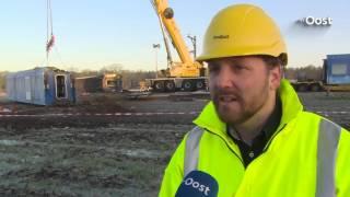Berging verongelukte trein in  Dalfsen verloopt voorspoedig