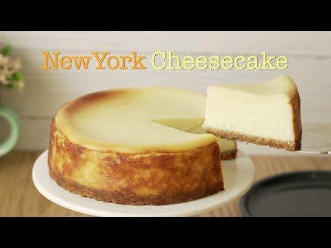 [Eng SUB] 부드럽고 진한 뉴욕 치즈케이크 갈라짐 없이 굽기/New York cheesecake No cracking.