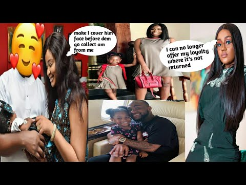Chioma Pack Out Of Davido's Masion And Move To  Why Actress Etinosa Cover's Her B@by Daddy's