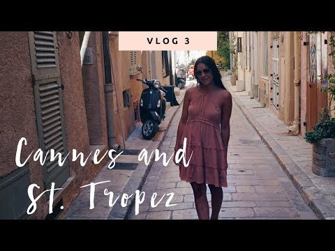 Vlog 3: Partying in Cannes, Coffee at Dior & Bagatelle in St. Tropez