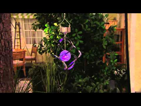 Solar Wind Spinner with Color Changing Light Up Ball with Amy Stran