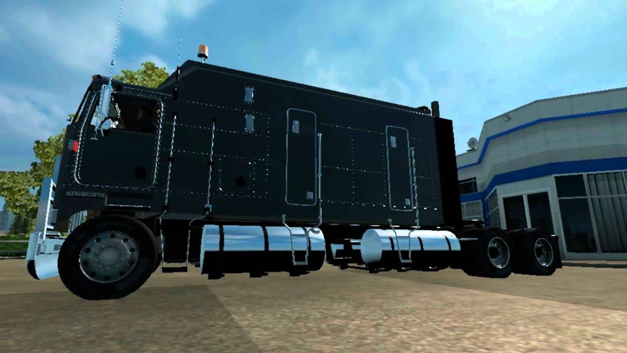 ETS2]Euro Truck Simulator 2 Kenworth K100 Long Cabine - YouTube