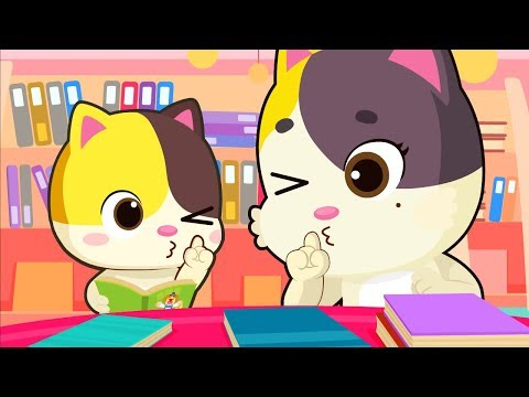 """""""No No"""" Library Manners Song  Play Safe Song  Nursery Rhymes  Kids Songs  Baby Cartoon  BabyBus"""
