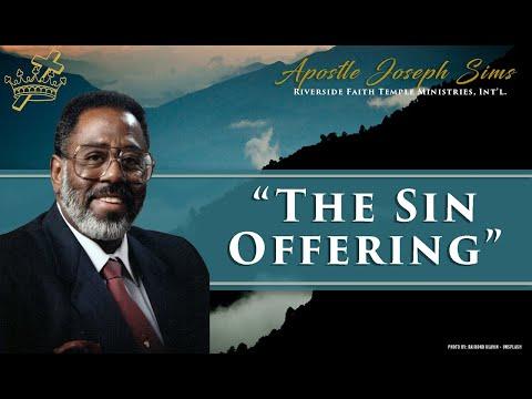 Audio Sermon - The Sin Offering, Leviticus 1; 3