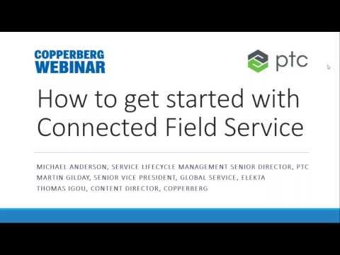 Copperberg & PTC Webinar into Connected Field Service