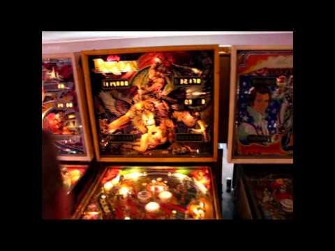 Pinball News - Three Minute Tour - David Peck's Gameroom