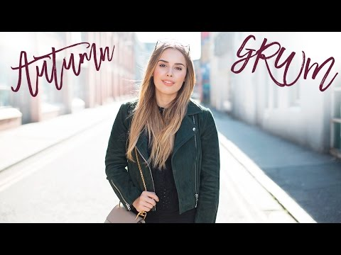 Autumn Everyday Get Ready With Me | Hello October | AD