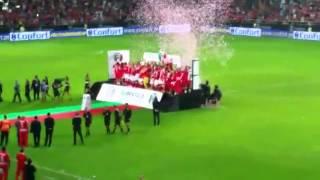 Benfica vs Rio Ave Supertaça Candido Oliveira (Entrega da Taça)