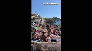 Déconfinement : malgré l'interdiction, les Marseillais profitent du soleil sur la plage