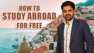 HOW TO STUDY ABROAD FOR FREE   Indian Students  International Students 2020   Meridean Overseas