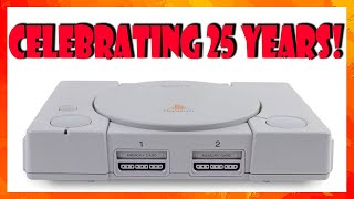 The Sony Playstation turns 25! Celebrating with a few Playstation Classic games!
