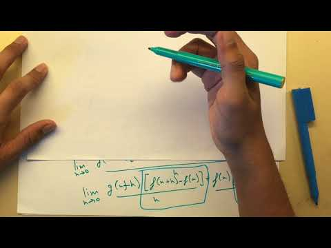 IB mathematics tutorial HL/SL- Product Rule and Quotient Rule