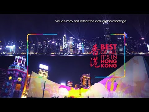 'A Symphony of Lights' and Hong Kong Pulse Light Show