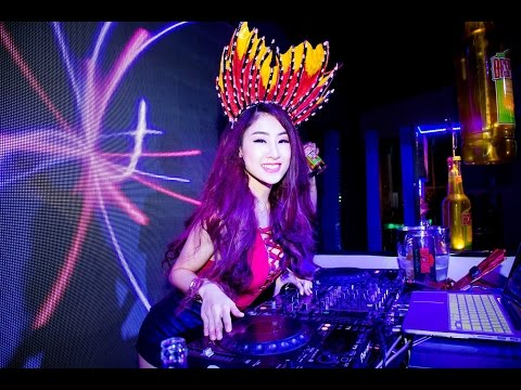 DJ Oxy. Desperados Undersea Party in Vietnam with 2.000 people 2016