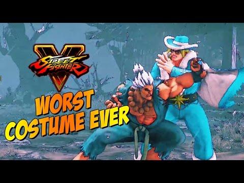 WORST COSTUME EVER - Akuma: Week Of! Street Fighter 5 (Online Matches) Pt. 5