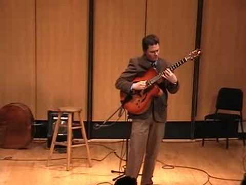 Sean McGowan - Stolen Moments - solo fingerstyle jazz guitar