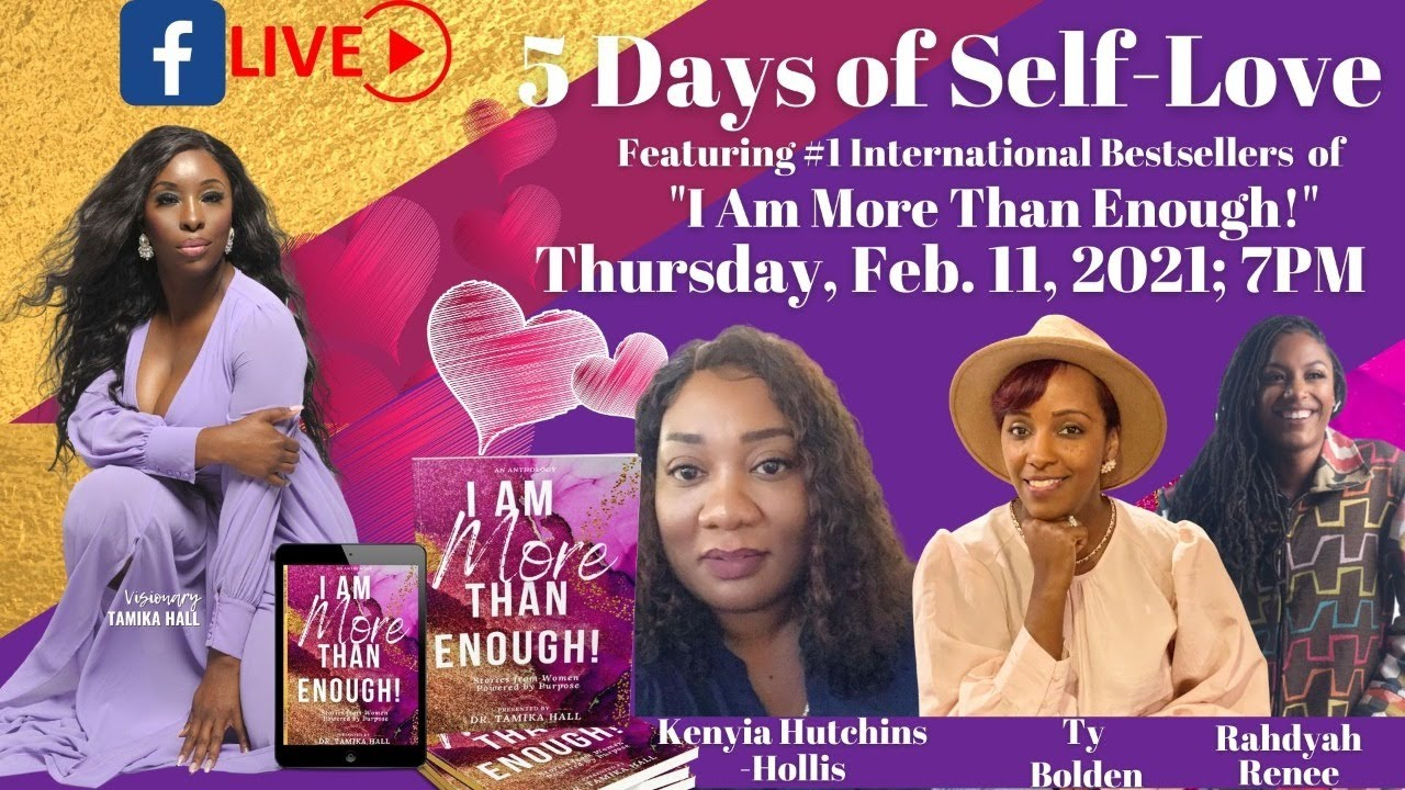 (Day 4) Featuring Kenyia Hutchins-Hollis, Ty Bolden, & Rahdyah Renee
