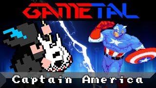 Captain America (Marvel vs. Capcom: Clash of Super Heroes) - GaMetal Remix