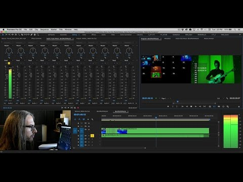 How to Edit Video with Multicam Sequence | Adobe Premiere Pro CC