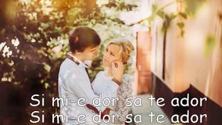 Doddy feat. Lora - Dor Sa Te Ador Official Video Lyrics