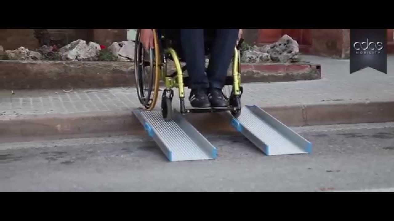 Rampa Port Til Para Silla De Ruedas Youtube