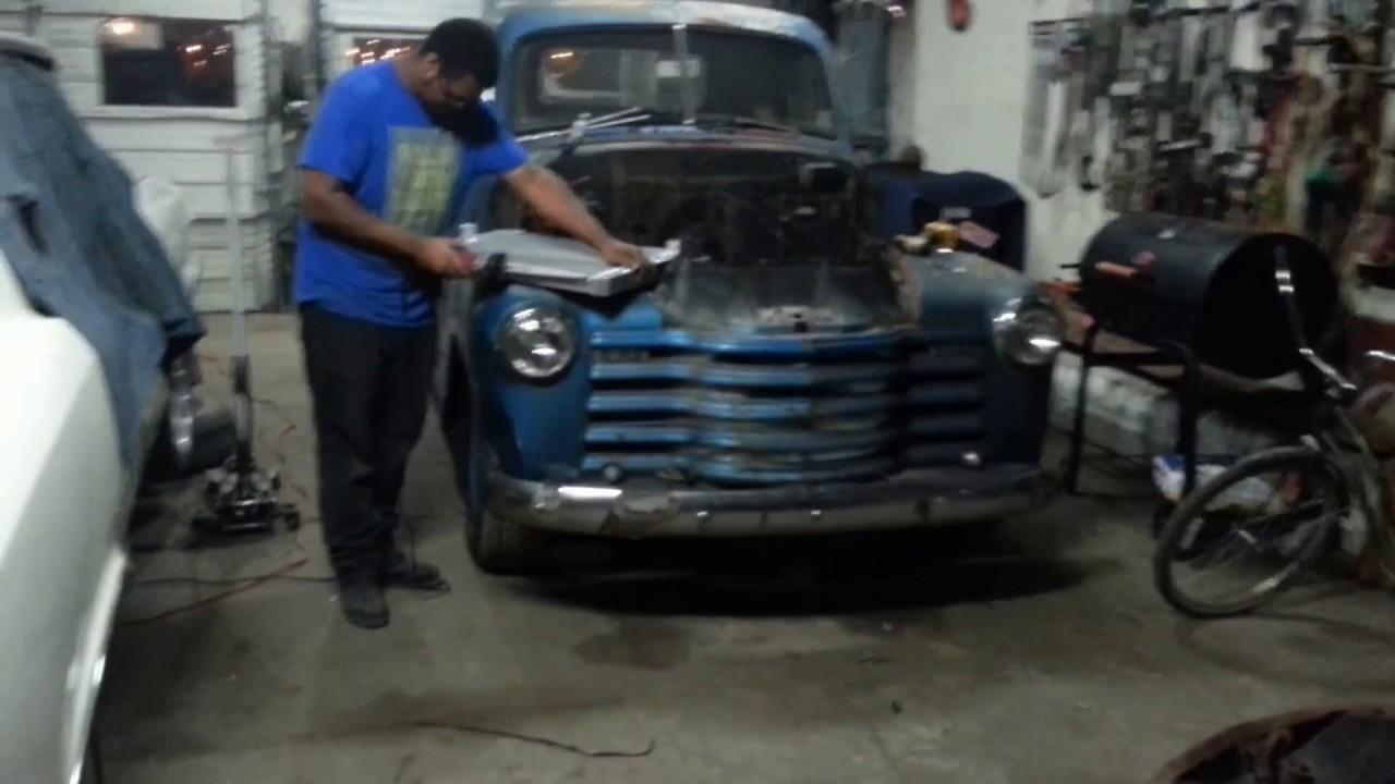 1951 Chevrolet radiator install Timeless Automotives - YouTube
