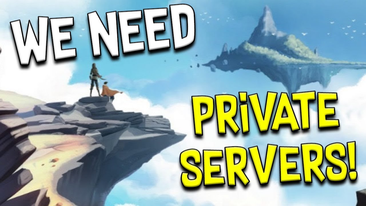 MMO Need Private Servers! Prove Me Wrong