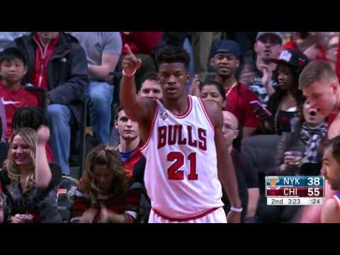 New York Knicks vs Chicago Bulls | January 1, 2016 | NBA 2015-16 Season