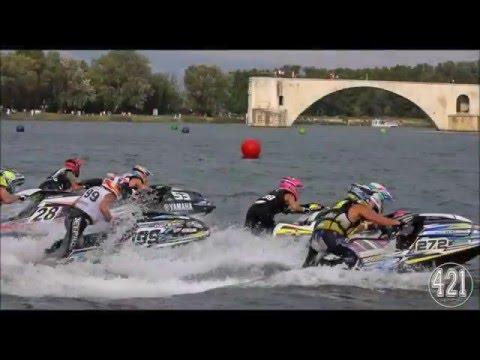 Championnat France jet ski vitesse Avignon 2015