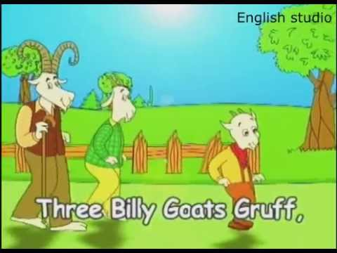 Three Billy Goats Gruff Tail. Welcome B