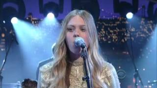 "First Aid Kit - ""My Silver Lining"" 6/12/14 David Letterman"