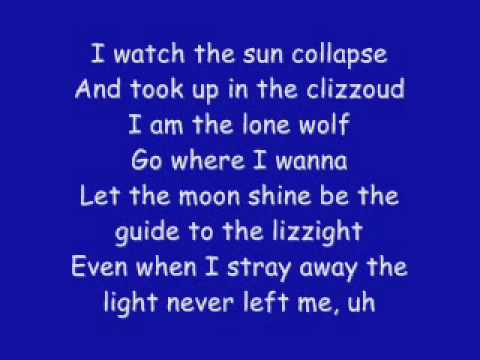 Kid Cudi Feat Ratatat  - Alive LYRICS ON SCREEN