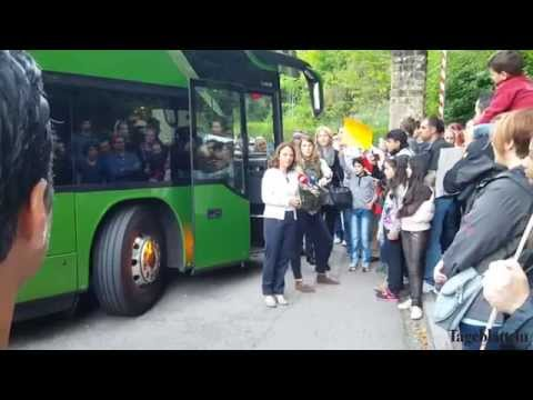 Luxembourg welcoming refugees from Syria