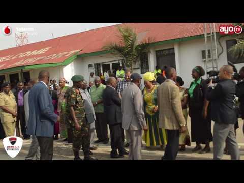 FULL VIDEO: JPM alivyotua Mwanza na kutembea kwa miguu hadi Uwanja wa Nyamagana